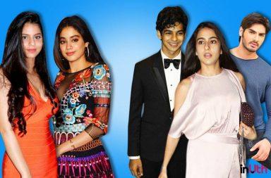 Suhana Khan, Jhanvi Kapoor, Ishaan Khattar, Sara Ali Khan, Ananya Pandey, Bollywood star kids,Inuth.com