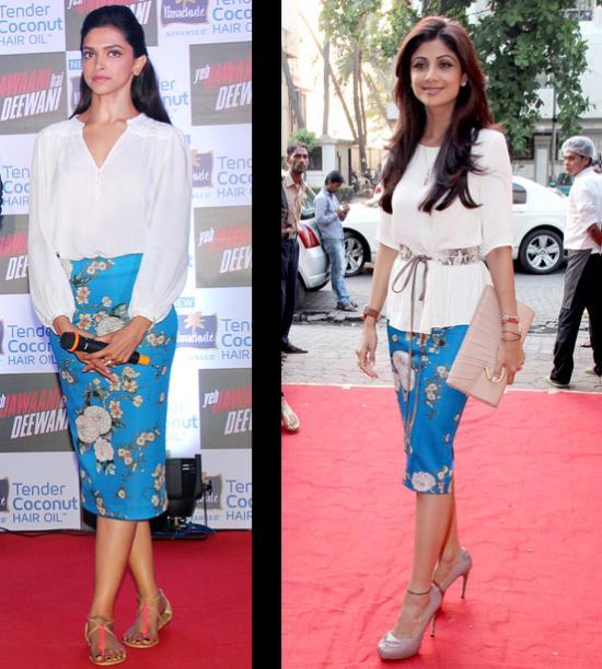 Deepika Padukone and Shilpa Shetty