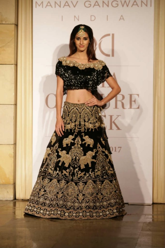 Disha Patani for Manav Gangwani at ICW 2017