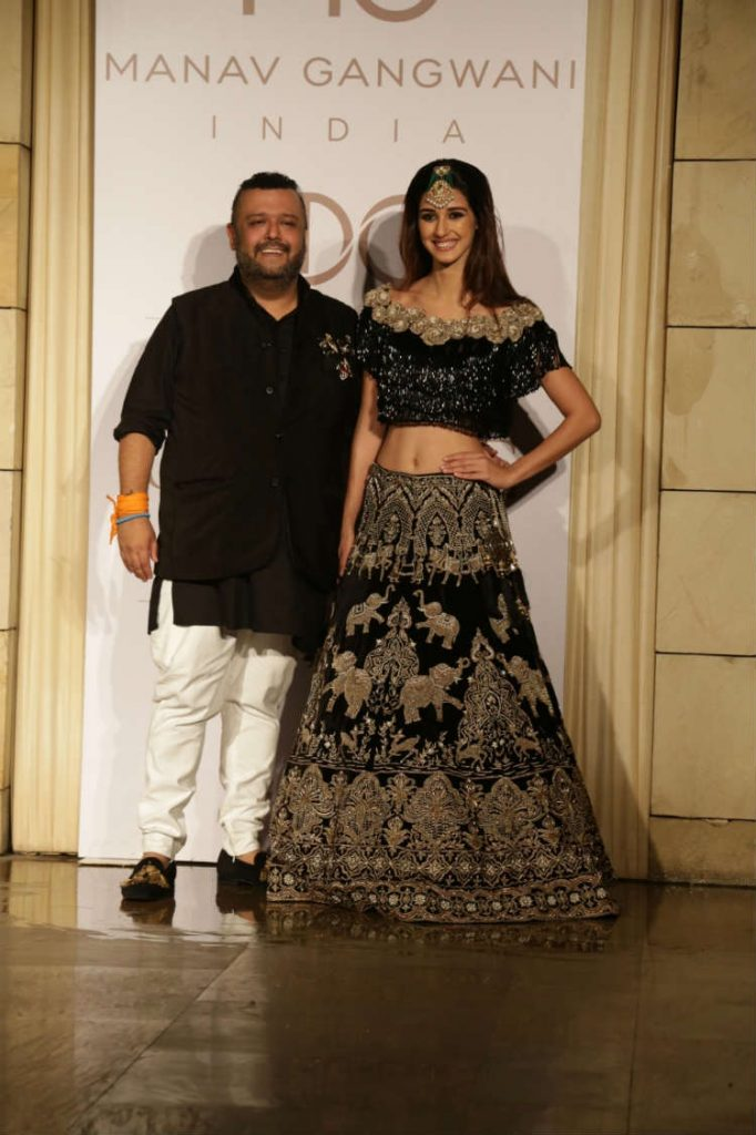 Disha Patani for Manav Gangwani at ICW 2017