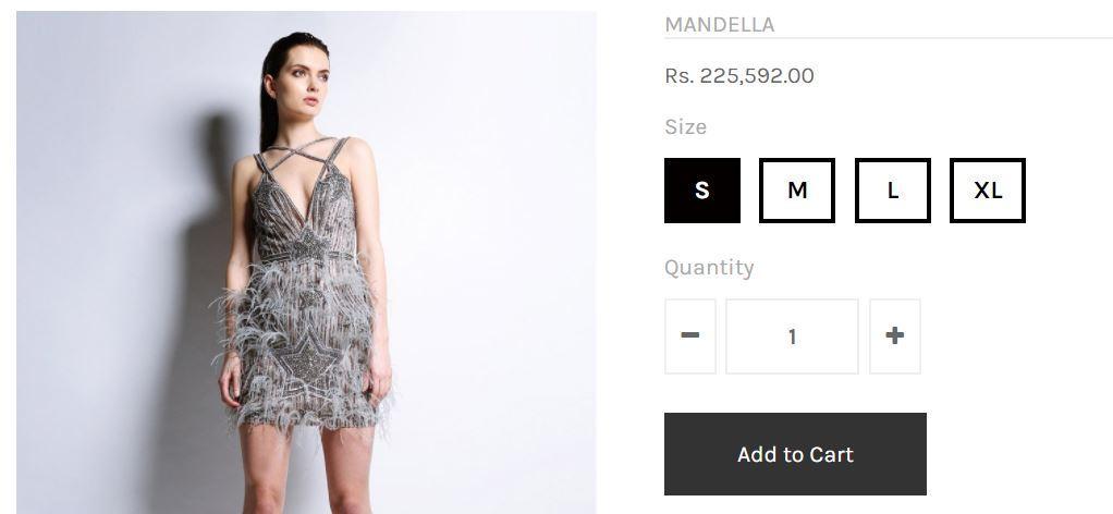 disha-patani-siver-dress-price