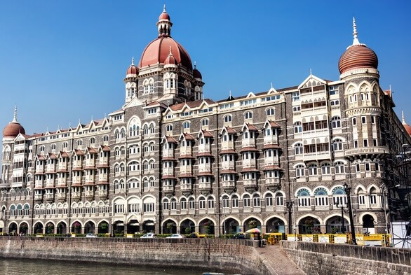 Taj Mahal Hotel in Mumbai is claimed to be one of the haunted places in the city