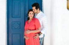 Esha Deol's Maternity Photoshoot