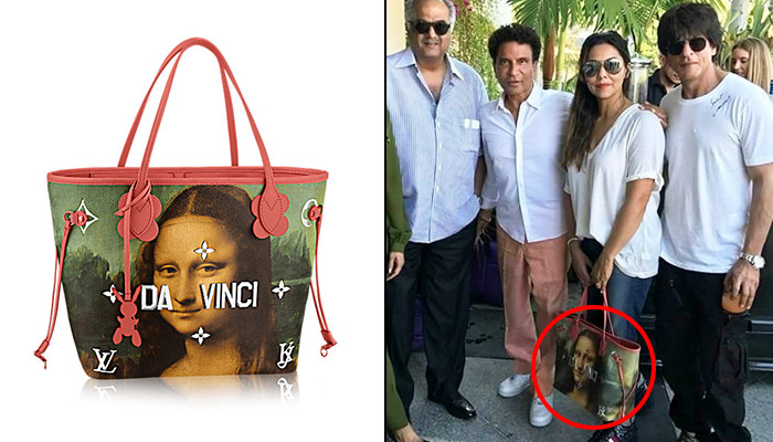Gauri Khan's Louis Vuitton bag costs just too much and still looks like a piece bought from Sarojini Nagar