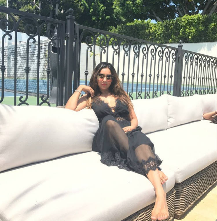 Gauri Khan vacaying in LA