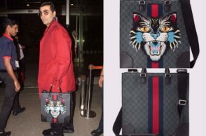 Karan Johar at the airport