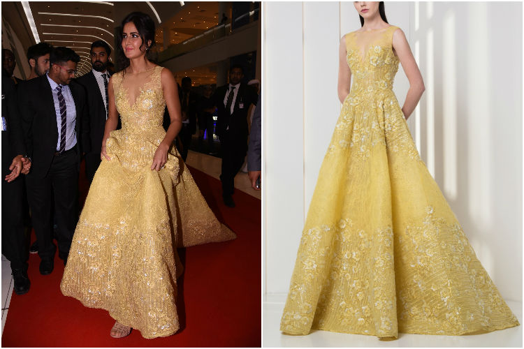 We bet you can't afford Katrina Kaif's yellow gown even ...