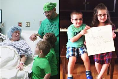 Kids' Viral Video, Diana Zippay, Jason Zippay, The Zippay Family, Bailey, Tobias, Kidney Transplant, Viral Video, Allegheny General Hospital, Kidney Donor, Kidney Donation, Facebook Post, kidney failure, dialysis, Monongahela, Pennsylvania, Dido, Thank You by Dido