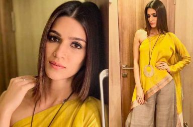 Kriti Sanon's looks for Bareilly Ki Barfi promotions photo