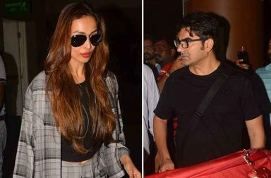 Malaika Arora, Arbaaz Khan return from family vacation images