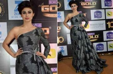 Mouni Roy gold award photo