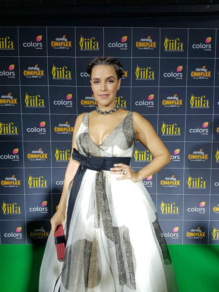 Neha Dhupia at the IIFA 2017