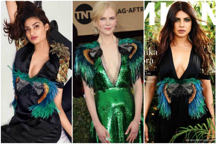 Athiya Shetty, Priyanka Chopra and Nicole Kidman in Gucci