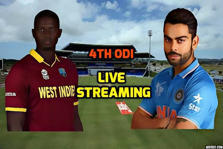 India Vs West Indies, 4Th Odi In Antigua, Live Streaming Watch Live Telecast On Sony -6785