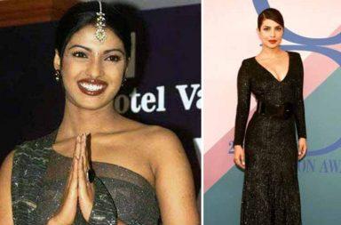 Priyanka Chopra then and now photo