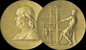 pulitzer prize in United States
