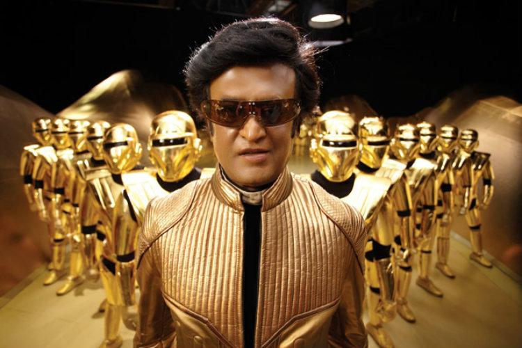 Rajnikanth in Robot