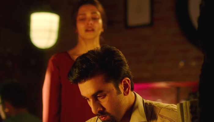 Ranbir Kapoor and Deepika Padukone in Agar Tum Saath Ho from Tamasha, InUth.com