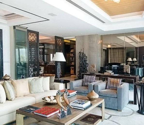 Sample photos of Rohit Sharma's house. Interior might differ