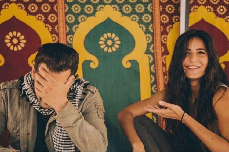 Salman Khan Katrina Kaif on Tiger Zinda Hai sets, Salman Khan, Katrina Kaif, inuth.com