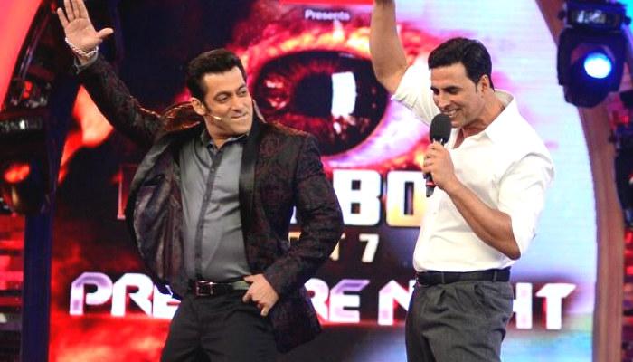 Salman Khan, Akshay Kumar, Bigg Boss 11, inuth.com