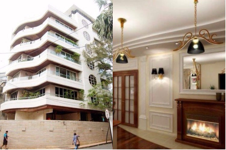 Salman Khan's residence at Galaxy Apartments