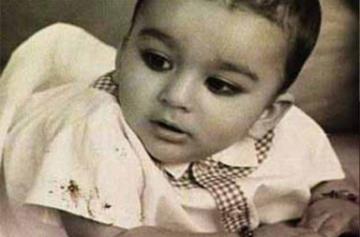 Sanjay Dutt childhood photo