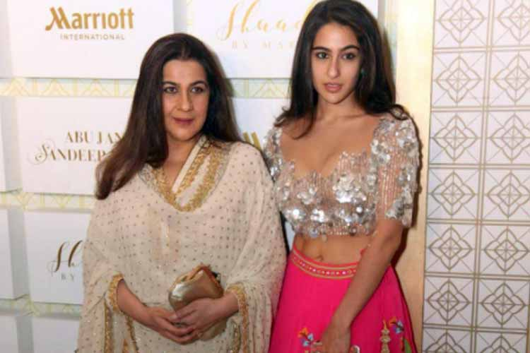 Sara Ali Khan spotted at Shadi by Marriott show