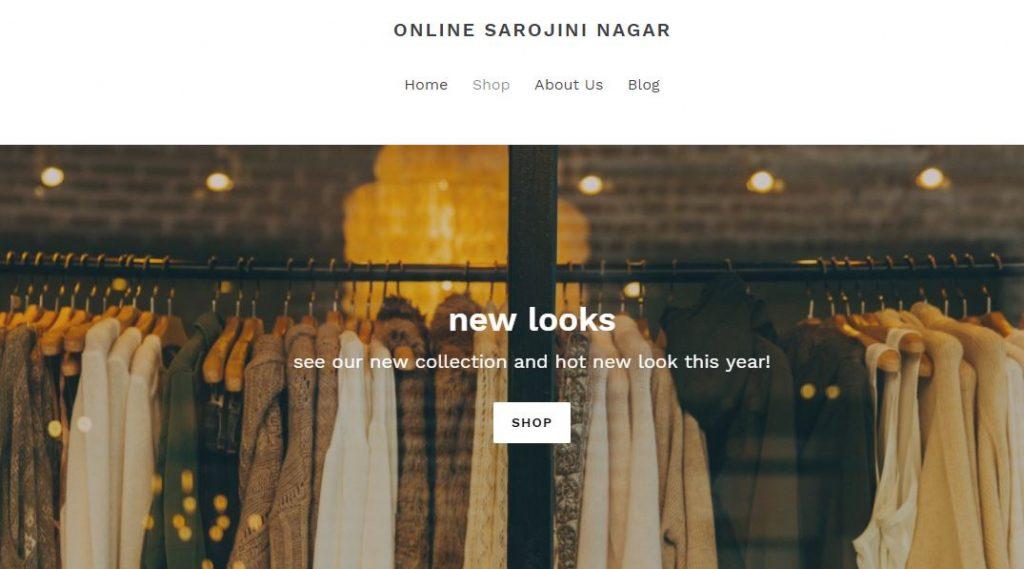 Online Sarojini Nagar