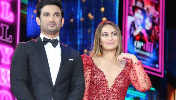 Sonakshi Sinha and Sushant Singh Rajput at IIFA 2017