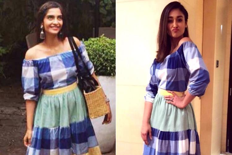 Sonam Kapoor and Ileana D'Cruz in The Jodi Life dress