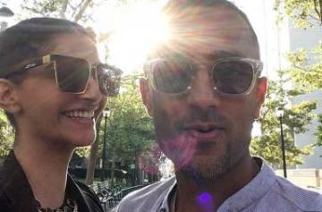 Sonam Kapoor New York vacation photo