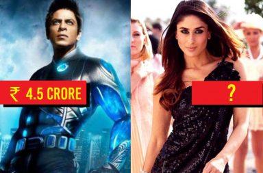 Shah Rukh Khan in Ra.One, Kareena Kapoor in Kambakkht Ishq