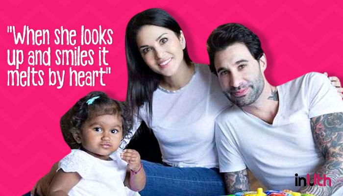Sunny Leone, Daniel Weber and daughter Nisha