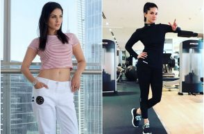 Sunny Leone's workout regime
