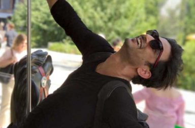 Sushant Singh Rajput New York holiday pics
