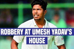 Umes Yadav robbed, Umesh Yadav residence