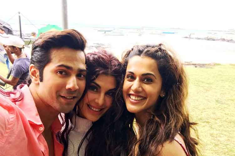 Judwaa 2 on sets photo