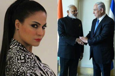 veena malik on PM Modi's Israel visit