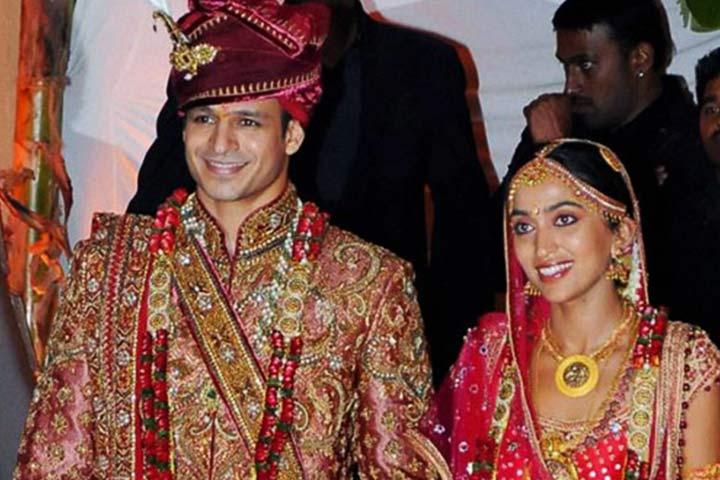 Vivek Oberoi and Priyanka Alva