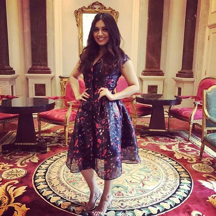 Bhumi Pednekar looking pretty at Toilet: Ek Prem Katha London promotions
