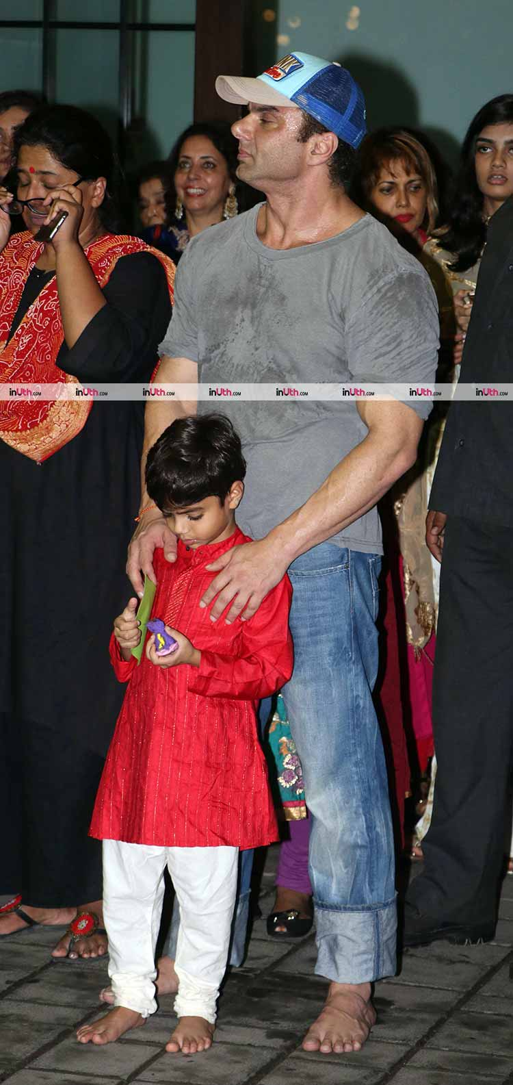 Sohail Khan with his son Yohan Khan