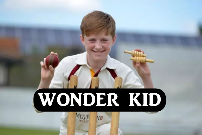 Wonder Kid 13 Year Old Luke Robinson Bags 6 Wickets In Six Balls Watch VIDEO