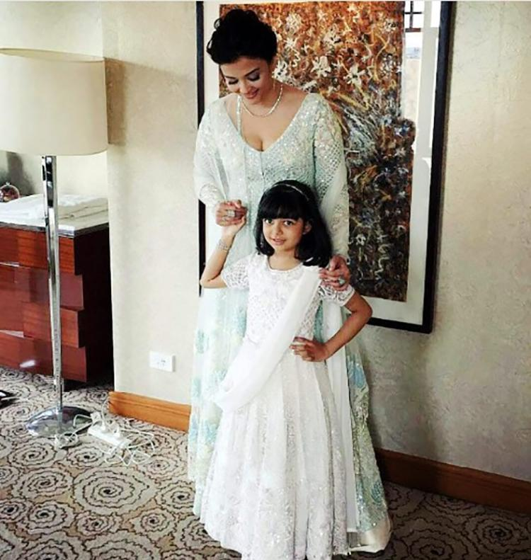 Aishwarya Rai with daughter Aaradhya at IFFM