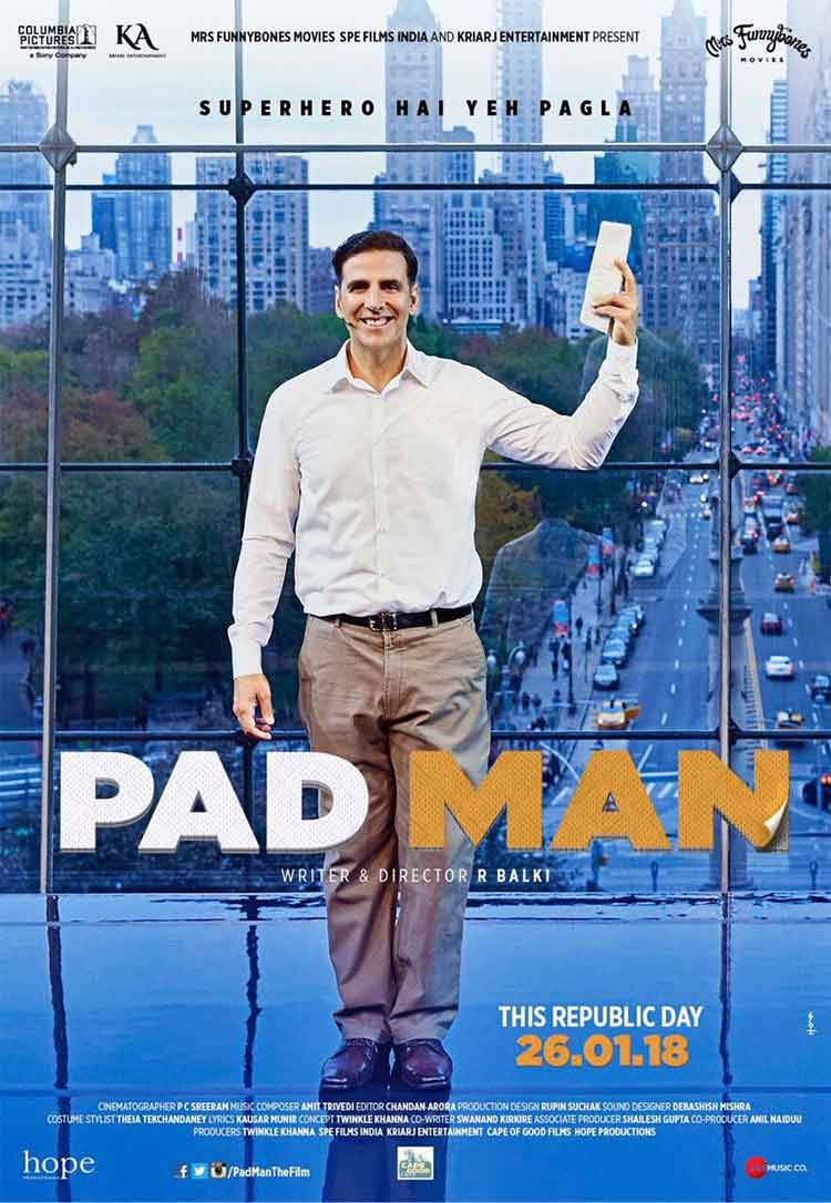 Akshay Kumar shares new poster of PadMan
