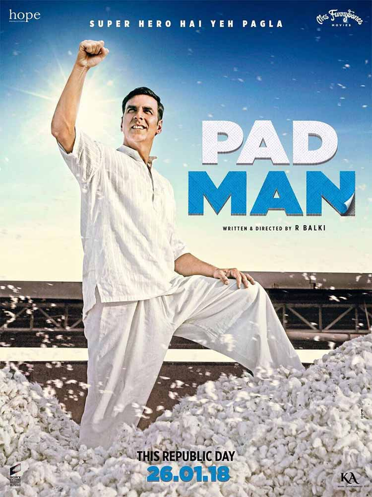 Akshay Kumar turns a super hero on the new poster of Padman