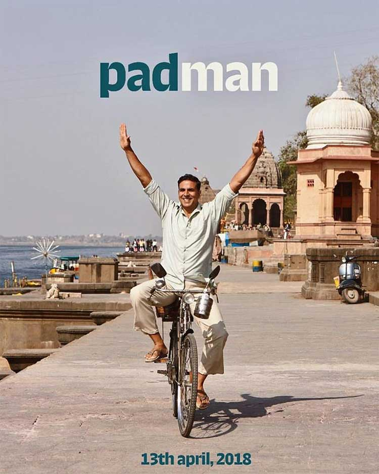Akshay Kumar's first look from Padman
