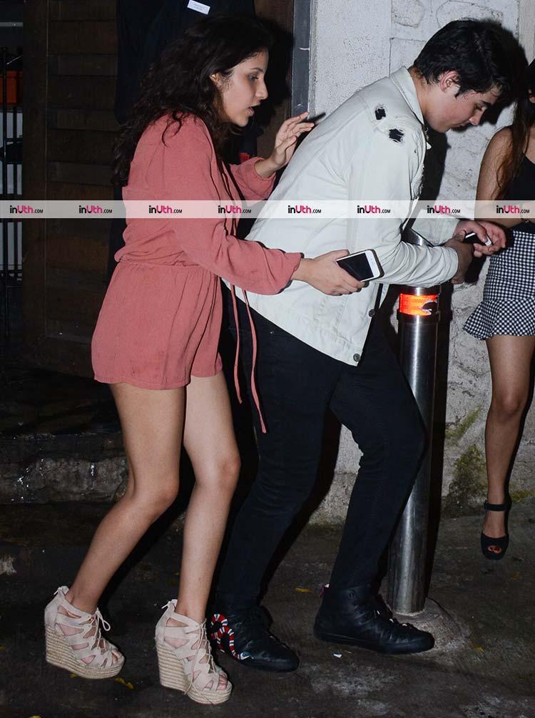 Akshay Kumar's son Aarav spotted with a mystery girl