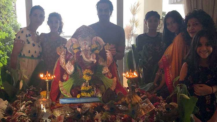 Arjun Rampal has brought Ganpati home for Ganesh Chaturthi 2017