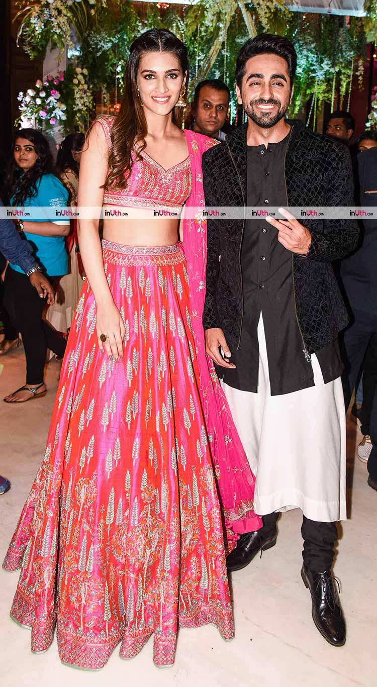 Ayushmann Khurrana, Kriti Sanon promoting Bareilly Ki Barfi
